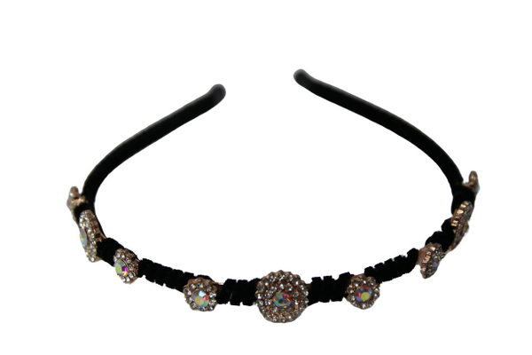 Skinny diamante headband