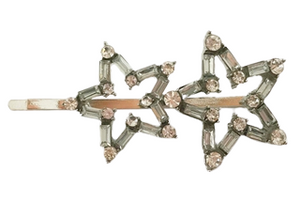 Stars Diamante Hair Slide