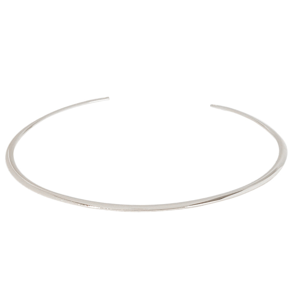 Metal Curved Choker