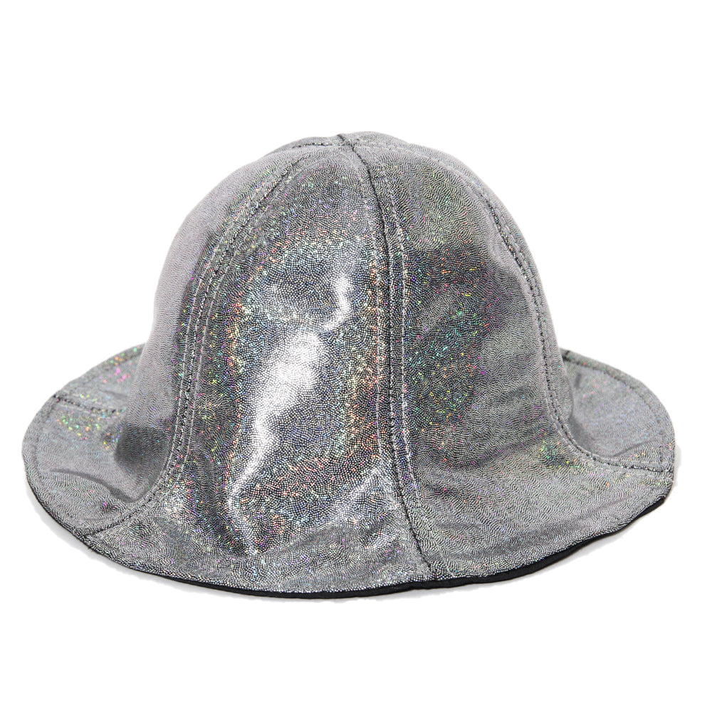Black Holographic Bucket Hat