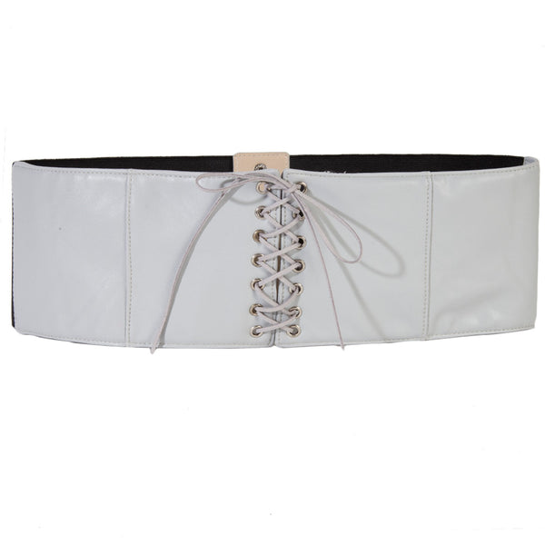 Soft Faux Leather Corset Inspired Belt