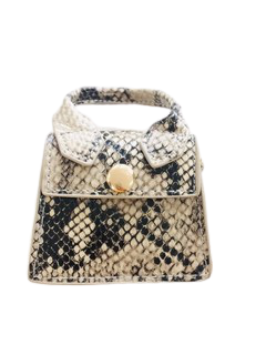 Grey Snake Super Mini Bag