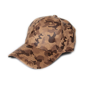 Tan Soft Camo Cap