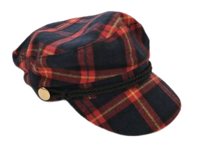 TARTAN BAKER WITH ROPE TRIM