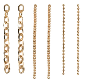 Gold Chain Earring Pack
