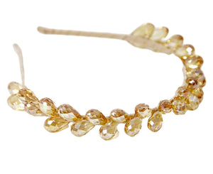 Drop Bead Cluster Headband