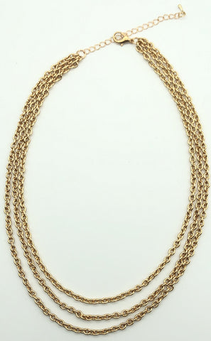 3 Layer Chain Necklace