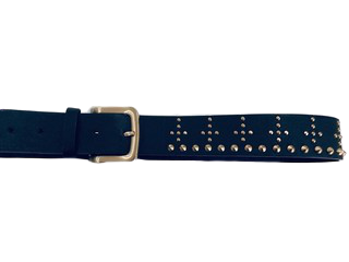 Studded Cross Belt