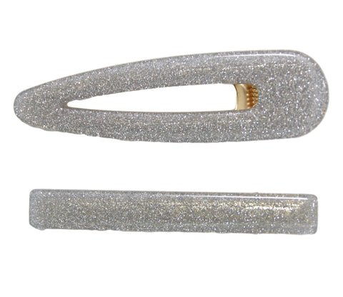Glitter Hair Clip Slide Pack