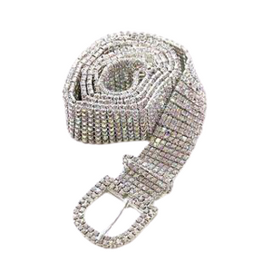 DIAMANTE BLING BELT