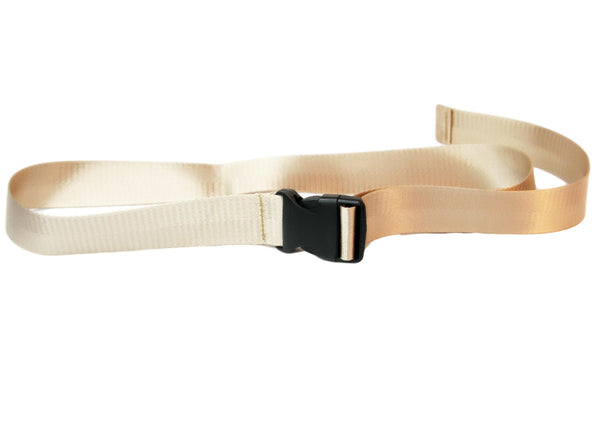 Sand Snood Seatbelt Style Belt with plastic buckle