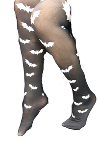Halloween Bat Tights