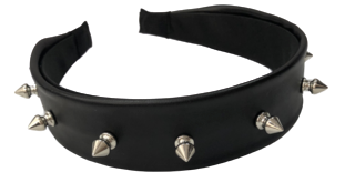 PU HEADBAND WITH STUDS