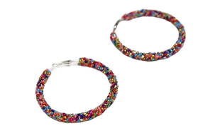 Multi Bead Hoops