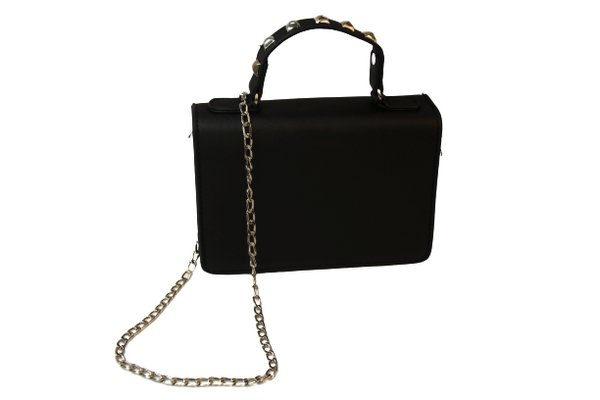 Studded Handle Bag