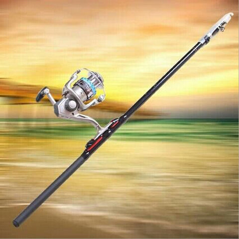 Fiberglass Fishing Tools Angeles Fishing Gear Hand Sea Pole FD0014 - CampingParadis