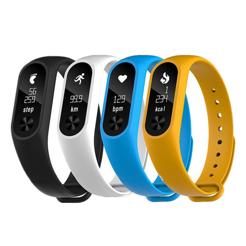 Heart Rate Monitor Smart band Health Fitness Tracker for Android iOS - CampingParadis
