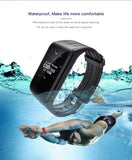 Fitness Tracker Watch Waterproof  Wireless Smart Heart Rate Monitor - CampingParadis