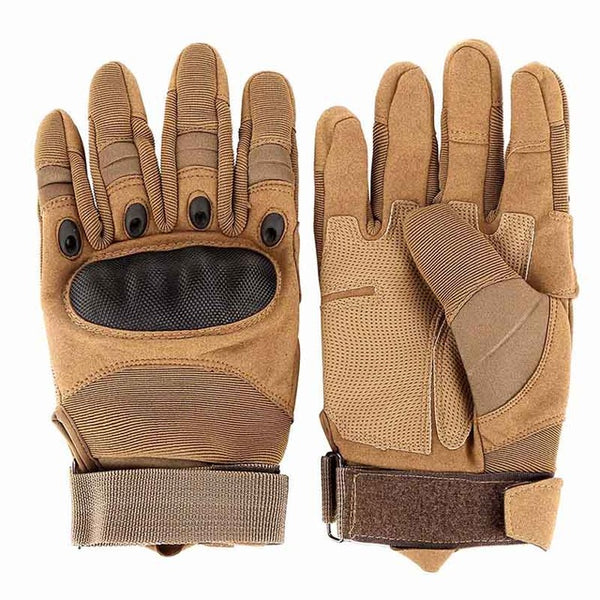Outdoor Sports Tactical Gloves, Climbing Gloves Men's Full Gloves For Hiking Cycling Training - CampingParadis