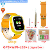 Hold Mi Q90 GPS Phone Positioning  Children Watch Color Touch Screen WIFI SOS - CampingParadis
