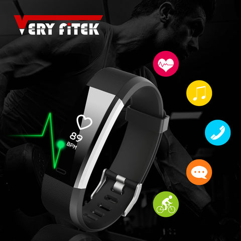 Smart Wristbands Fitness Bracelet Heart Rate Tracker Smartband Waterproof Fitness Bracelet - CampingParadis