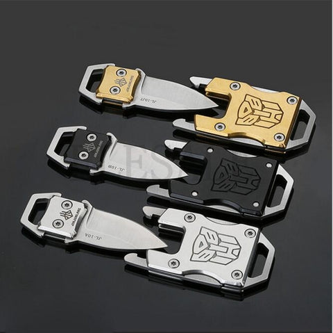 Self Defense Transformer Multi Functional EDC Bracelet With Packet Knife - CampingParadis