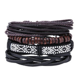 Men's Stylish Armband Leder Bracelets & Bangles Leather Bracelets