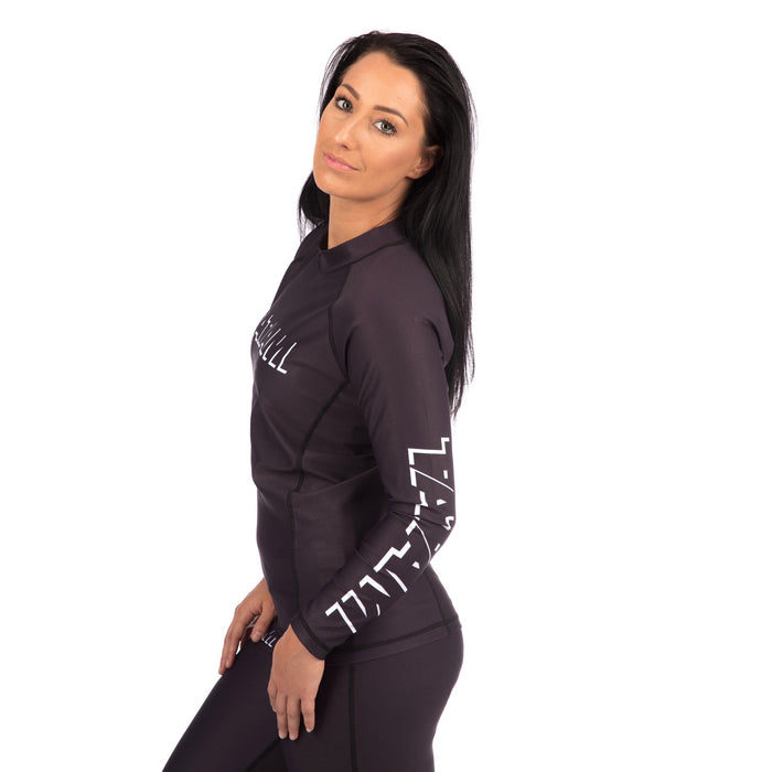 Tatami Ladies Shadow Long Sleeve Rash Guard