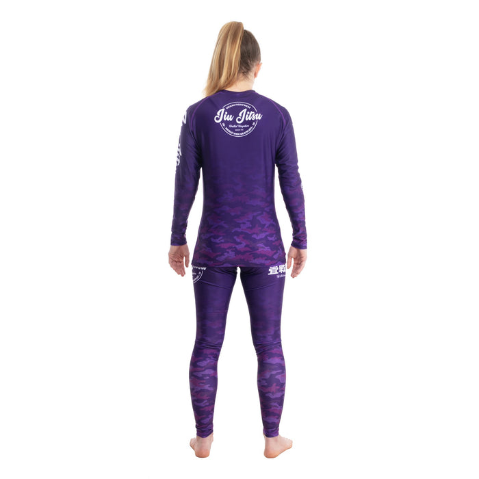 Tatami Ladies Worldwide Grapplers Purple Camo Leggings