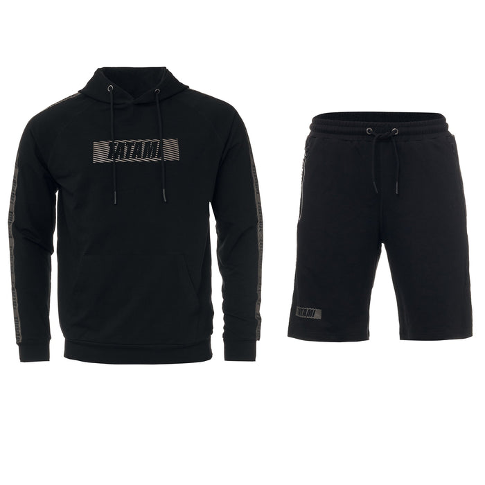 Tatami Essential 2.0 Tracksuit (Hoodie and Shorts) Black