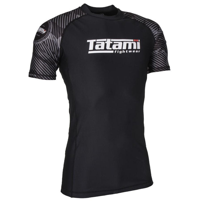 Tatami Renegade Green Camo Short Sleeve Rash Guard