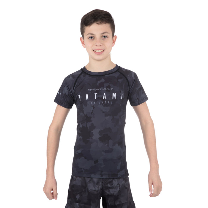 Tatami Kids Stealth Short Sleeve Rash Guard