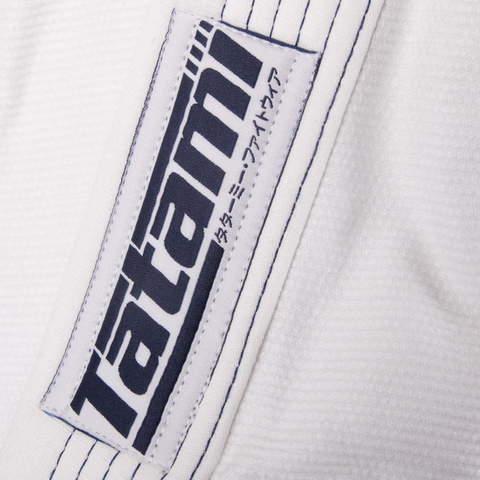 Tatami fightwear Elements Ultralite 2.0 Gi white logo brand