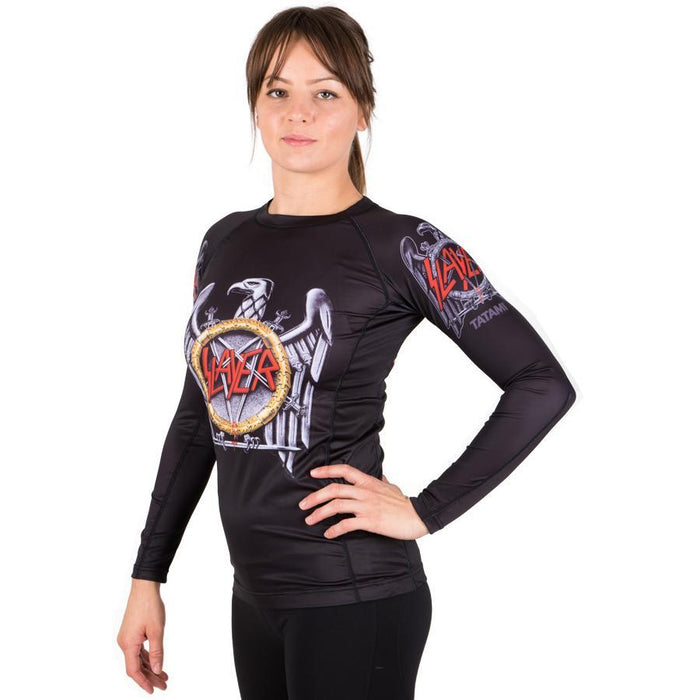 Tatami Ladies Slayer Eagle Rash Guard