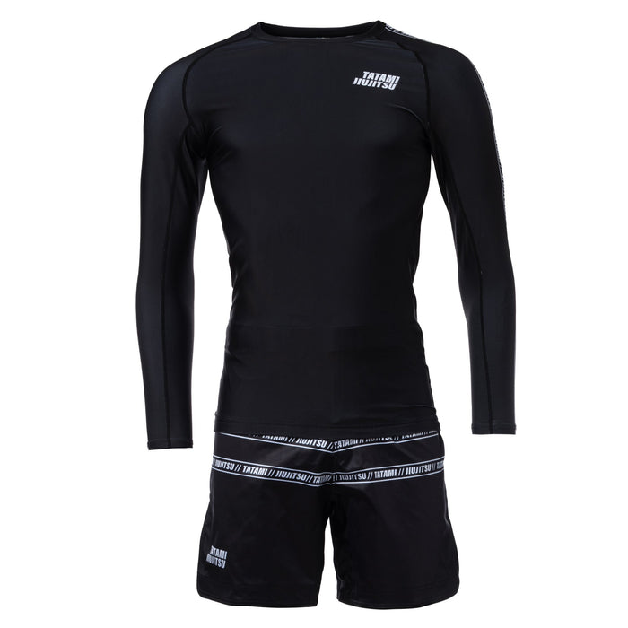 Tatami Vengeance Long Sleeve Rashguard Black