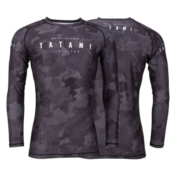 Tatami Stealth Long Sleeve Rash Guard