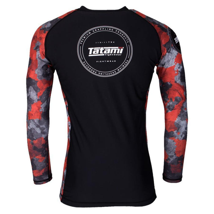 Tatami Renegade Green Camo Long Sleeve Rashguard