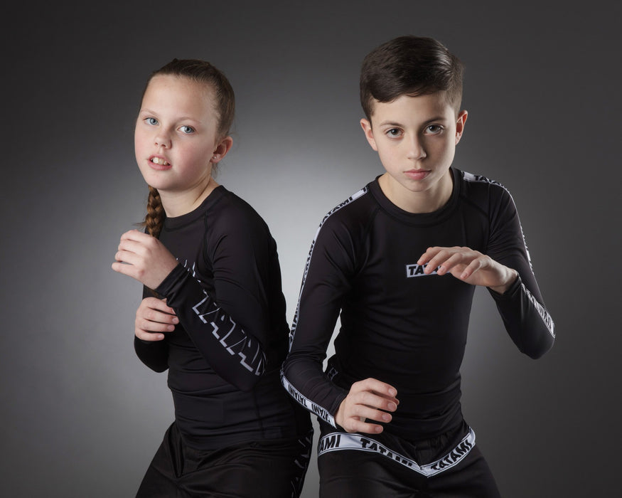 Tatami Kids Dweller Long Sleeve Rash Guard