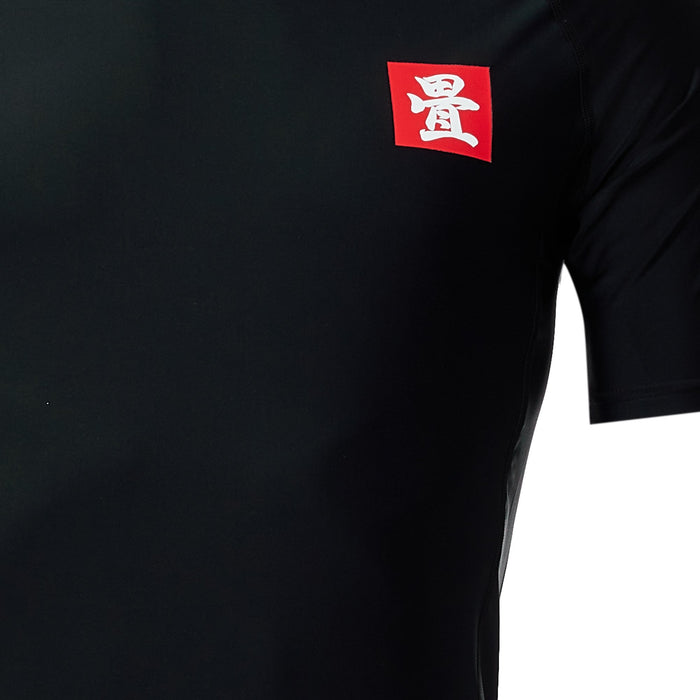 Tatami Red Label 2.0 Short Sleeve Rashguard Black