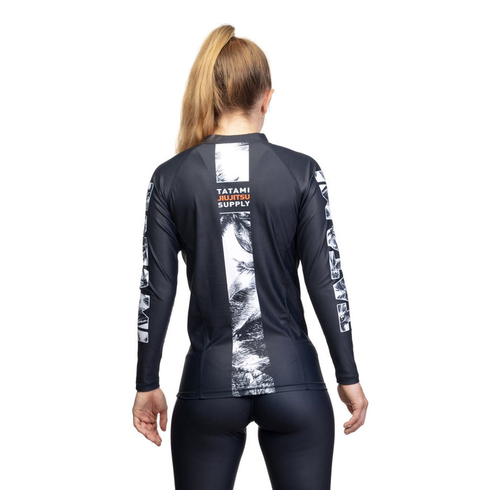 Tatami Ladies Tropic Rashguard Long Sleeve