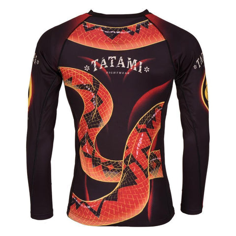 Duelling Snakes Rash Guard