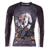 Cyber Thinker Monkey Rash Guard