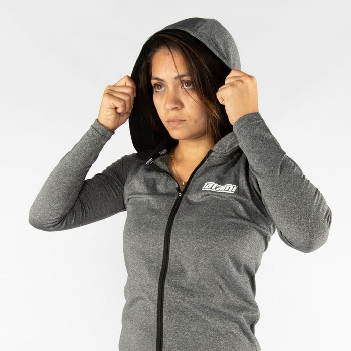 Tatami Ladies Lightweight Grey Hoodie