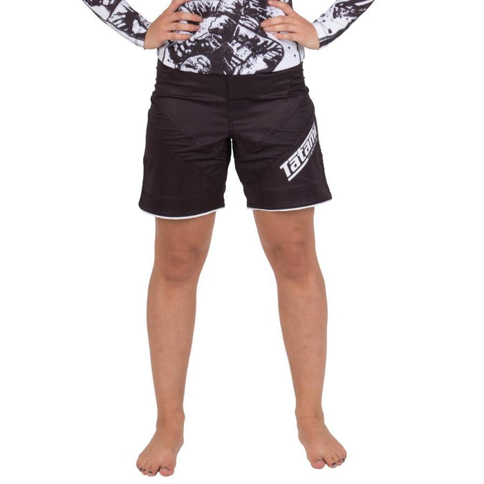 Tatami Ladies Black IBJJF Dynamic Fit Shorts