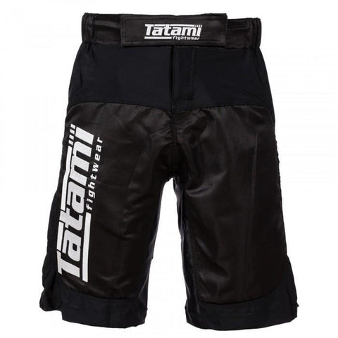 Multi Flex Black IBJJF Shorts Black
