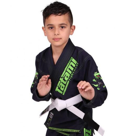 Meerkatsu Kids Animal BJJ Gi Navy
