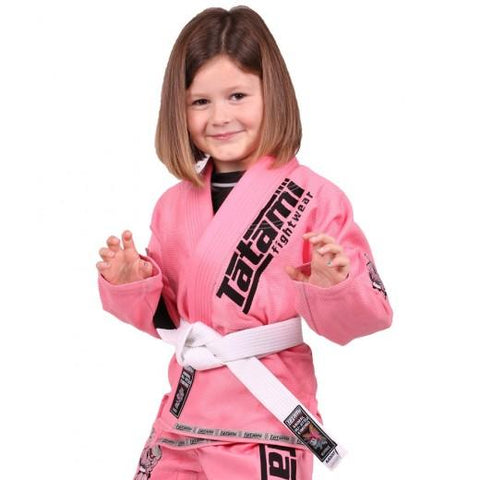 Kids Animal Mini BJJ Gi Pink