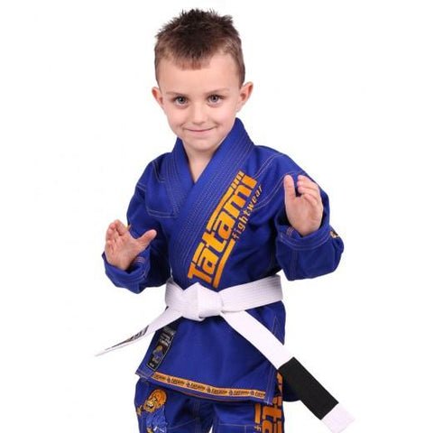 Meerkatsu Kids Animal BJJ Gi Royal Blue