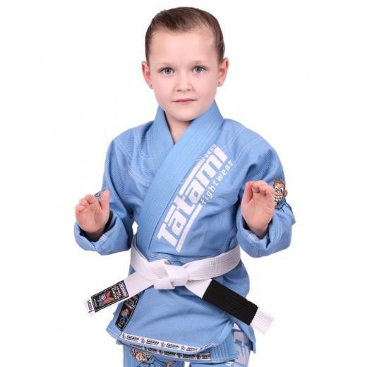 Meerkatsu Kids Animal BJJ Gi Sky Blauw