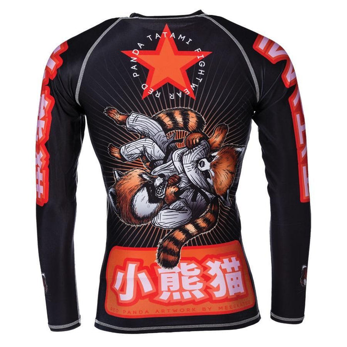 Tatami Kids Meerkatsu Red Panda Rash Guard